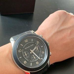 Michael Kors Runway Black Quartz Watch MK8107